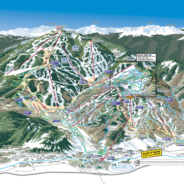 Trail Maps | Beaver Creek Resort